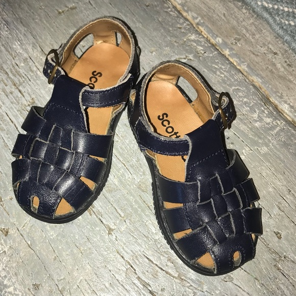 timeless design 256c6 7655a Toddler Boy Scott David Leather Sandals. M 5b3652f234a4efd150e2b432